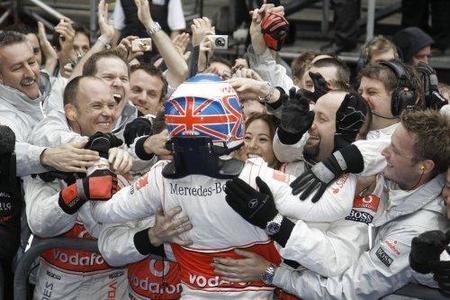 Jenson Button confirma con victorias su título de 2009