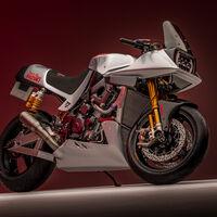 ¡Qué nostalgia! El equipo de motos clásicas de Suzuki ha recuperado una Katana con 200 CV y alma de Superbike