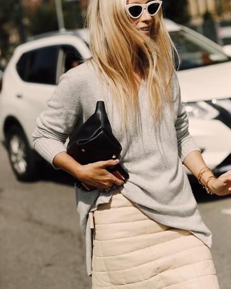 El street style nos muestra 13 maneras de introducir la tendencia del acolchado en nuestro día a día