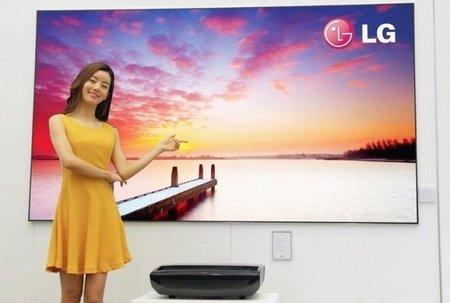 """LG presenta proyector que muestra imagen Full HD de hasta 100"""""""
