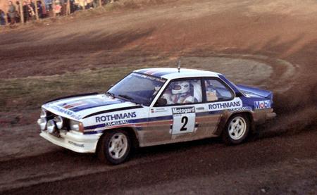 Opel Ascona WRC