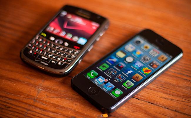 Smartphone en la mesa