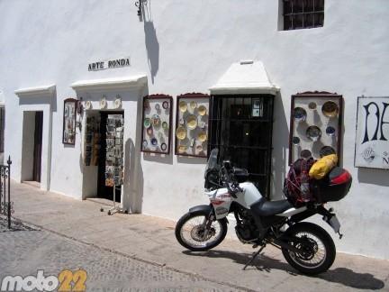 Derbi Terra Adventure 125 Cádiz-Tarifa-Granada