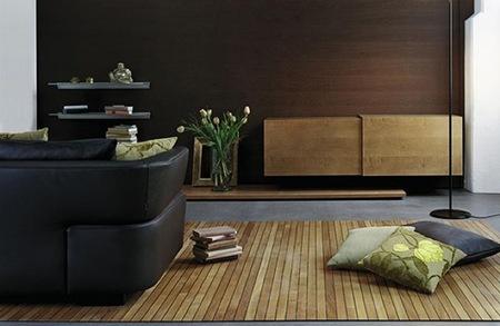 Alfombras de madera o suelos enrollables, según como se mire