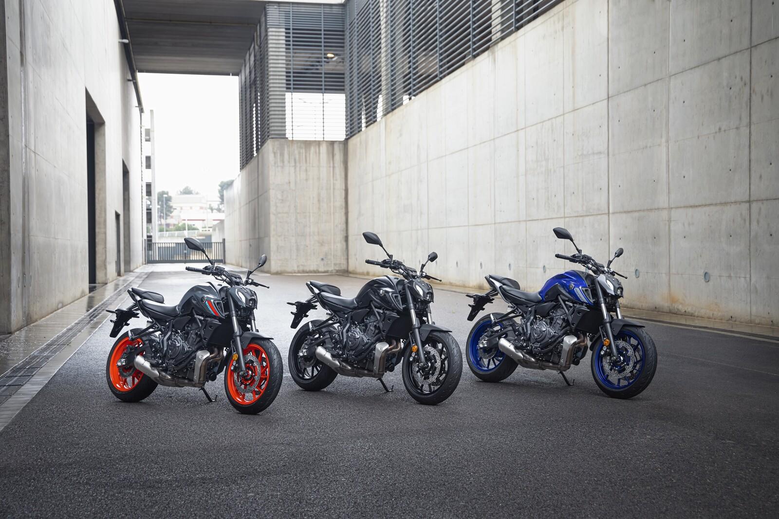 Foto de Yamaha MT-07 2021, prueba (17/75)