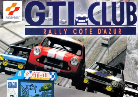 Retroanálisis de GTI Club + Rally Côte d'Azur, un arcade diminuto por fuera pero grande por dentro