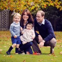 La moda española para niños conquista la felcitación navideña de los Duques de Cambridge
