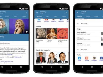 La versión móvil de Google mejora de cara a la búsqueda de series, cine y música: ¿preparando el terreno?