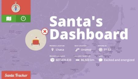 Google nos felicita la Navidad permitiéndonos seguir el rastro de Papá Noel en todo momento