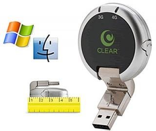 Clearwire 4G+ Mobile USB, navegación móvil sobre redes 3G y 4G