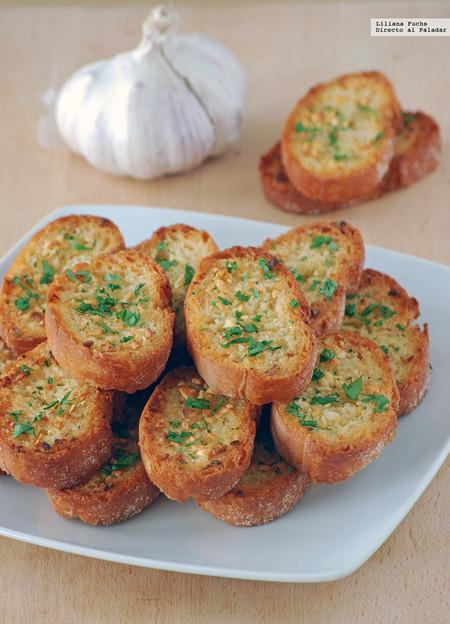 Receta de pan de ajo: no lo harás de otra manera