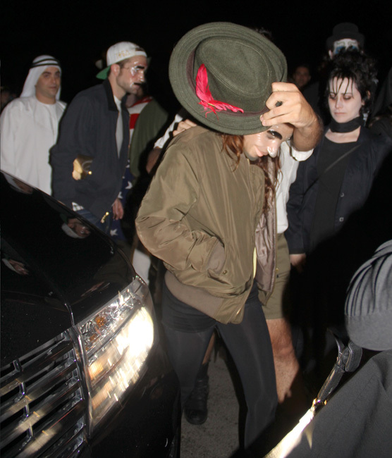 Robert Pattinson y Kristen Stewart Halloween
