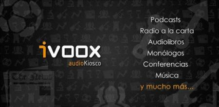 iVoox, una gran comunidad de podcasts, audiolibros y radio a la carta llega a Google Play