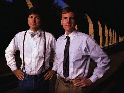 John Sculley, el CEO que echó a Steve Jobs y llevó las riendas de Apple de 1983 a 1993