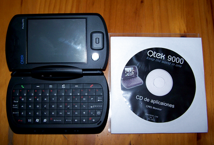 Qtek 9000: probando Windows Mobile 5.0.