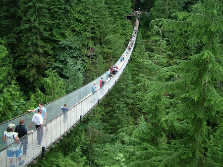 El Puente Colgante De Capilano Vancouver