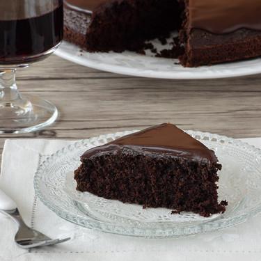 Pastel de chocolate y vino tinto: receta para amantes del chocolate