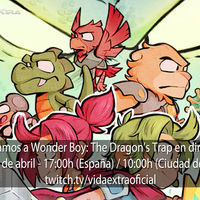 Streaming de Wonder Boy: The Dragon's Trap a las 17:00h (las 10:00h en Ciudad de México) [finalizado]