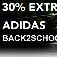Vuelta al cole en el outlet de Adidas: hasta un 30% de descuento con este cupón