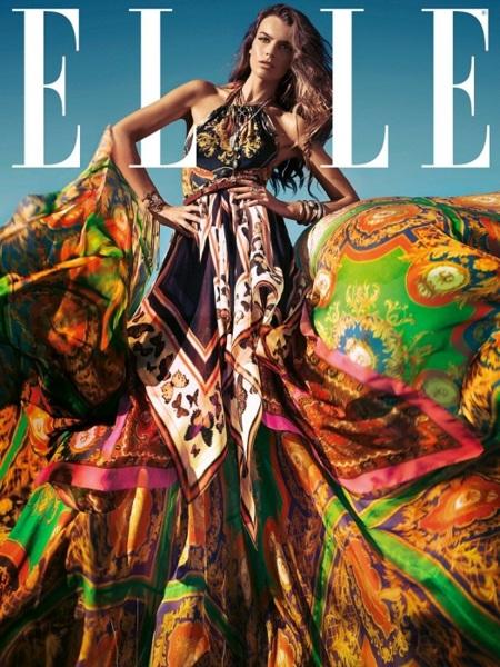 Flipa con Filippa y su portada en Elle Spain
