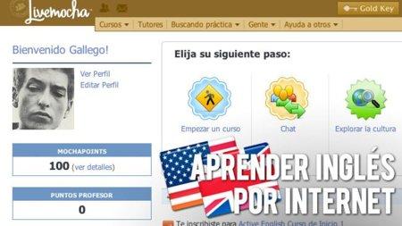 Aprender inglés por Internet: Livemocha