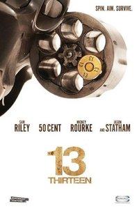 '13', cartel y tráiler del thriller con Jason Statham, quien también protagonizará 'Parker'