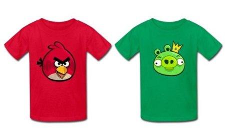 Camisetas de Angry Birds