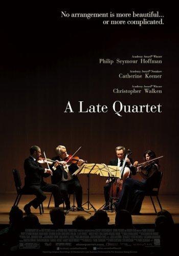 El póster de A Late Quartet