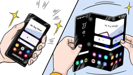 Samsung Tri Fold Foldable Phone Image