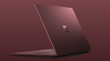 Surface Laptop 2 Burgundy Los Portatiles Mas Ligeros Y Bonitos 2018