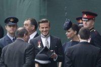El look de Victoria y David Beckham en la boda real del príncipe Guillermo y Kate Middleton