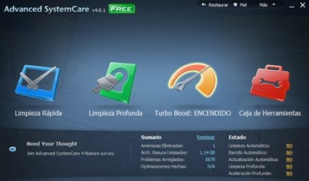 Advanced SystemCare 4 a fondo, la suite de mantenimiento para Windows se actualiza