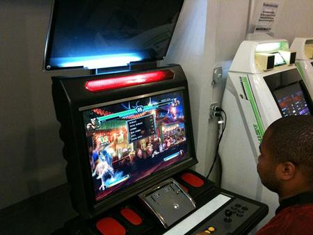 king of fighters arcade machine