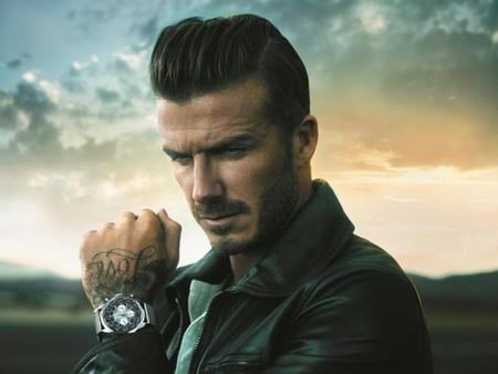 David Beckham la nueva imagen de Breitling para el Transocean Chronograph Unitime