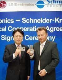 Ópticas Schneider-Kreuznach para móviles LG