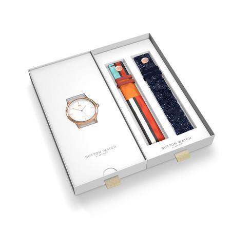 Dolores Promesas ha creado su primera colección de relojes y de gafas de sol y graduadas cargadas de color