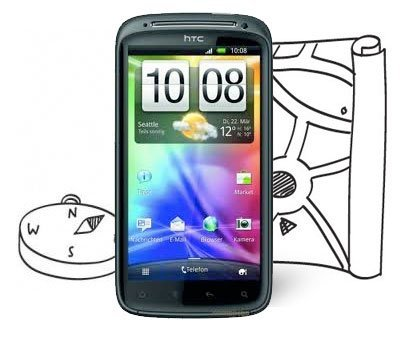 HTC Sensation GPS