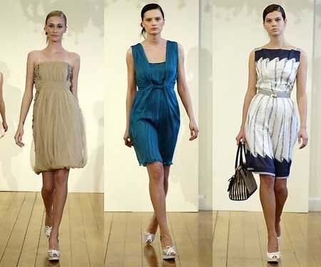 Alberta Ferreti Cruise Collection Primavera-Verano 2008