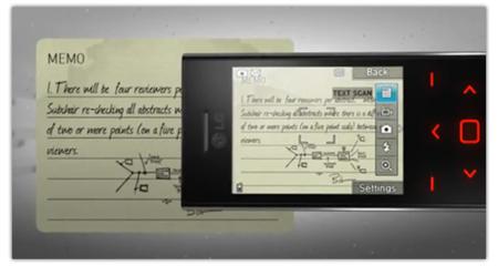 LG BL20 Chocolate en un vídeo promocional