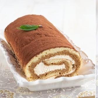 Receta de brazo de tiramisú, una deliciosa vuelta de tuerca al clásico dulce italiano