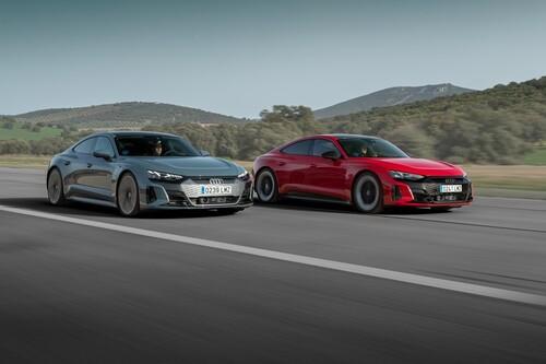 Probamos el Audi e-tron GT: la súper berlina eléctrica es todo placer y contundencia en movimiento