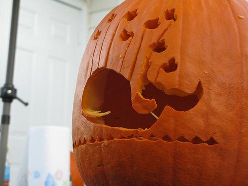 Foto de 10 calabazas originales para inspirarte en Halloween (5/10)