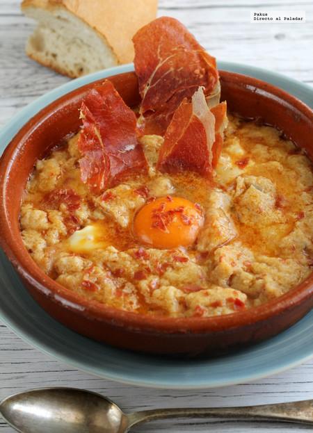 Sopa de Pan y Jamón