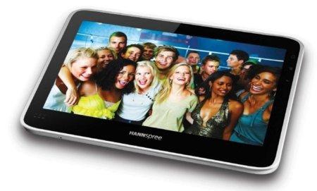 Hannspree anuncia tu tablet con Android y corazón Tegra