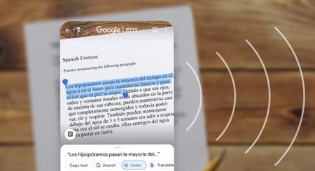 Google Lens ya permite copiar texto escrito a mano usando la cámara de nuestro smartphone para pegarlo en la computadora