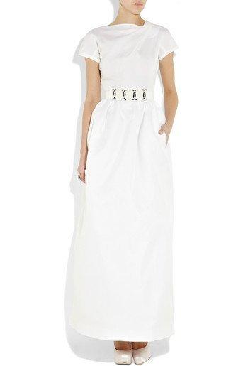 vestido novia victoria beckham