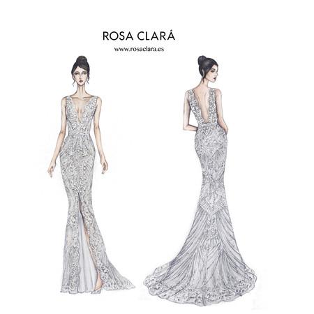 Rosa Clara Boceto Boda Messi 2