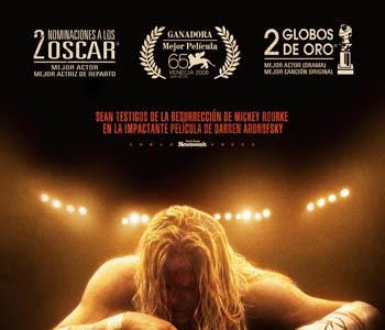 'El luchador', póster y trailer en español del renacimiento de Mickey Rourke