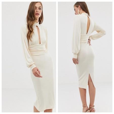 Vestido Retro Blanco