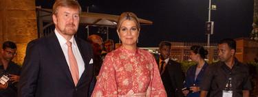 El último look de Máxima de Holanda en India es un sobresaliente absoluto y esta vez sin tocado ni sombrero